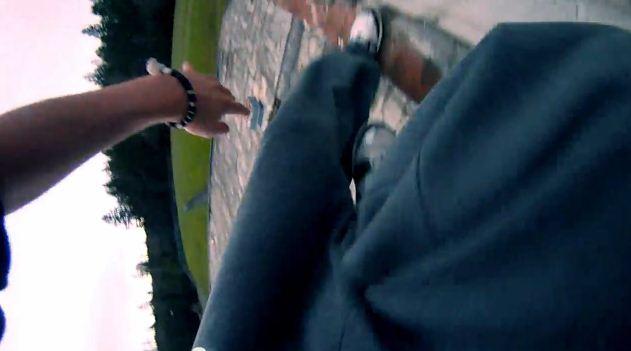 Parkour Lauf mit GoPro