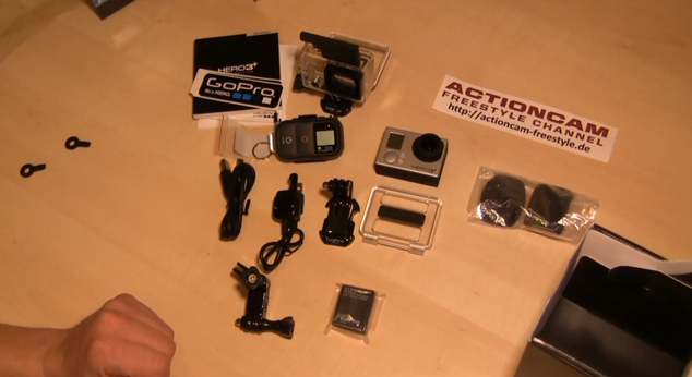 GoPro Hero3+ plus Black Edition unboxing deutsch