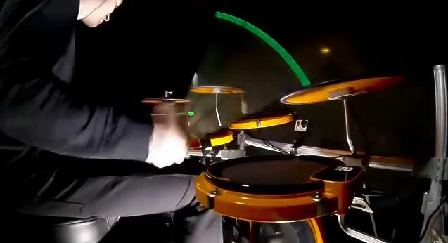 Schlagzeug-Perspektiven mit GoPro
