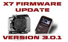 X7 Firmware Update 3.0.1