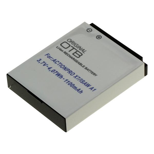 OTB Akku kompatibel zu ACTIONPRO X7 Li-Ion
