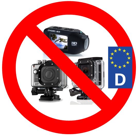 DashCam Verbot in Deutschland