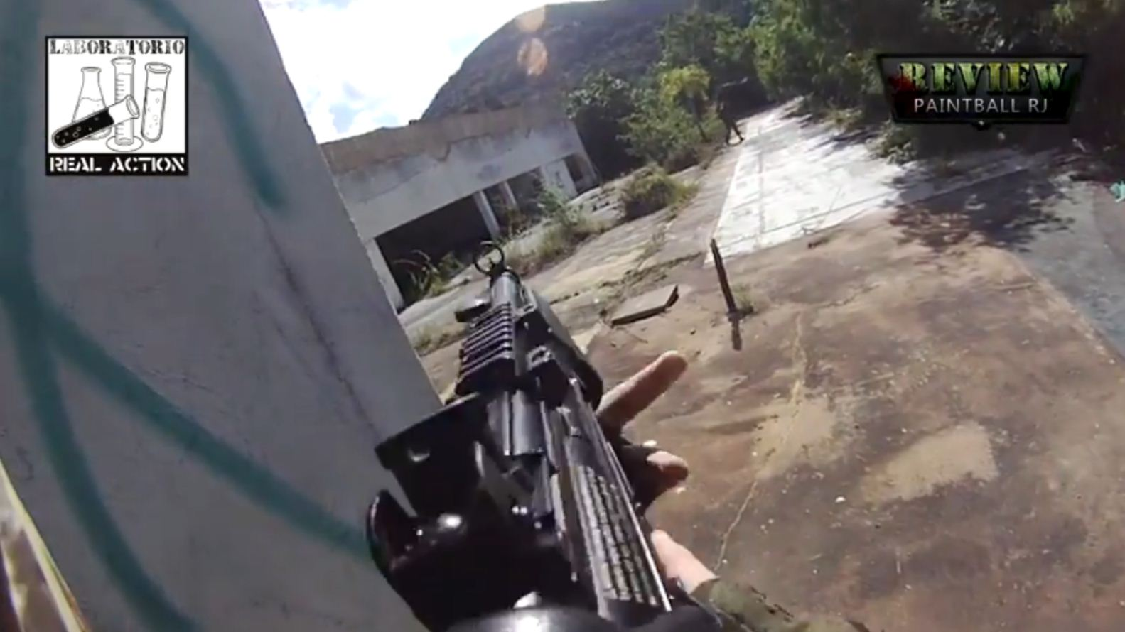 Paintball mit Contour+2 ActionCam