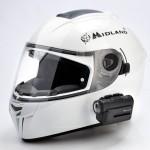 Midland XTC-400 am Motorradhelm