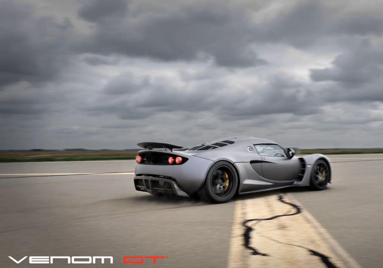 Hennessay Venom GT