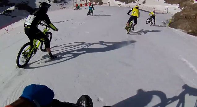 Mega Avalanche Downhill Bike Race
