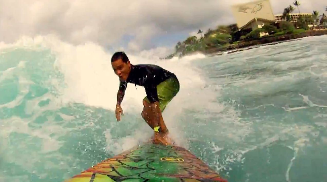 Contour Surfing Sessions