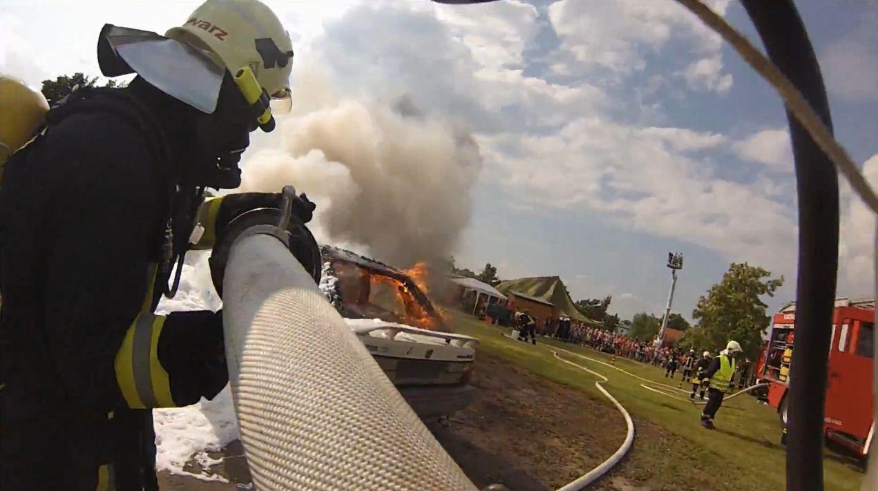 Feuerwehreinsatz GoPro