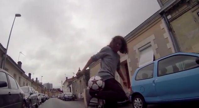 Soccer Trickshots und Freestyle mit GoPro