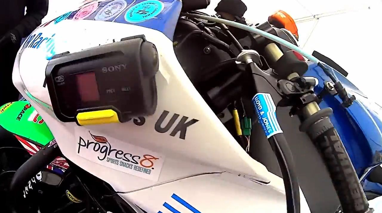 Sony ActionCam Isle of Man TT 2013