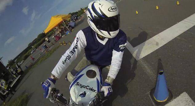 Motorradsport Gymkhana