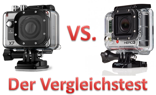 Actionpro X7 oder GoPro Hero3 Black Edition