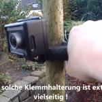 DIY Klemmhalterung ACTIONPRO und GoPro