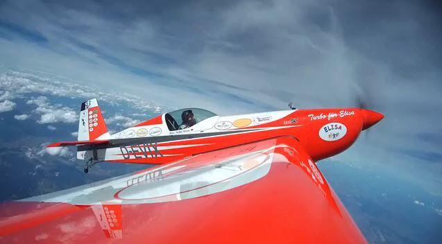 Marc Turbo Grüne Weltrekordversuch im Flachtrudeln