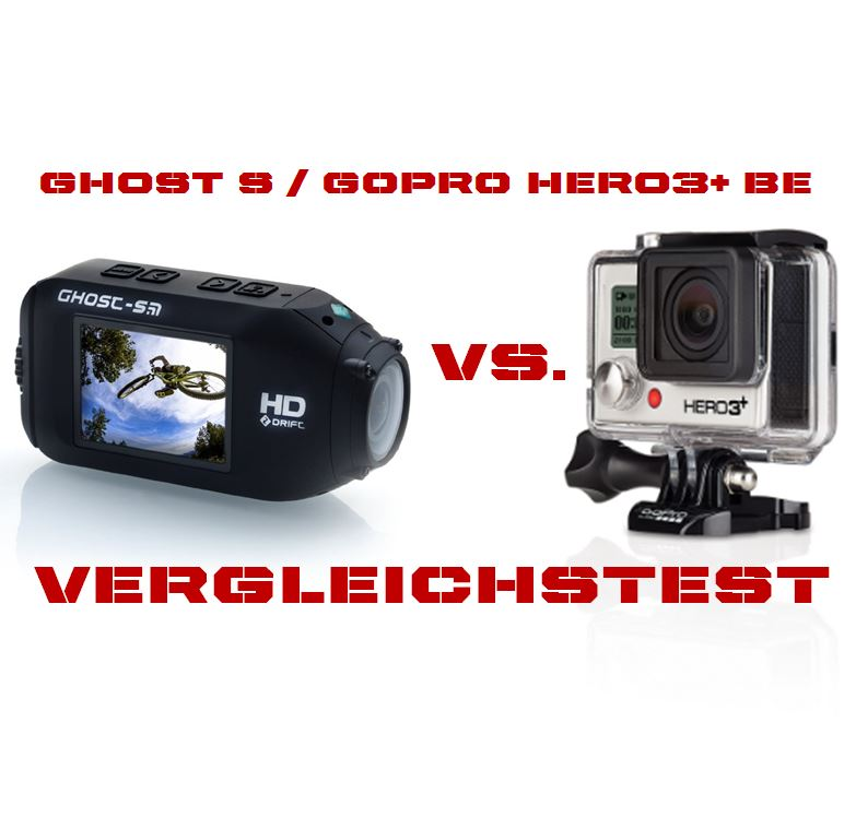 GHOST S vs HERO3+ Black Edition