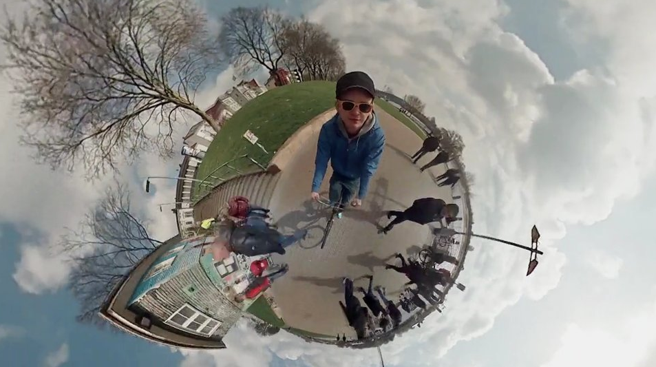 360° Video using 6 GoPro Cameras - spherical panorama timelapse